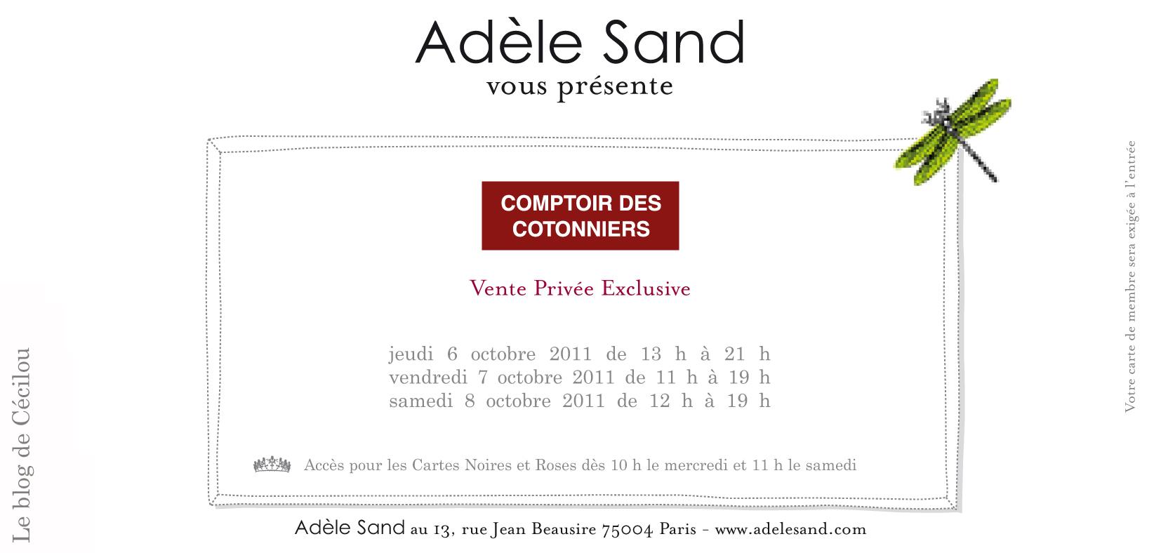 Vente Privee Comptoir Des Cotonniers Le Blog De Cecilou