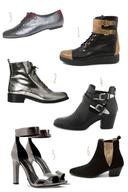 sélection chaussures rentrée 2014