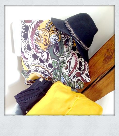Chapeau feutrine Zara