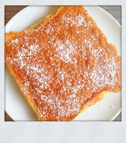 Recette Gâteau magique