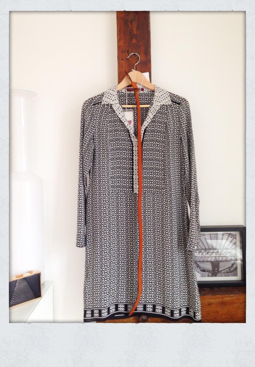 Robe en soie comptoir des Cotonniers