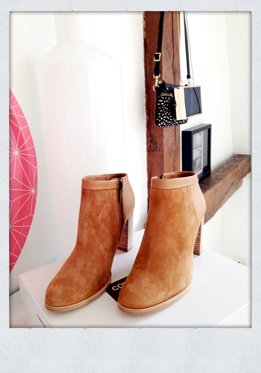 Boots camel Comptoir des Cotonniers